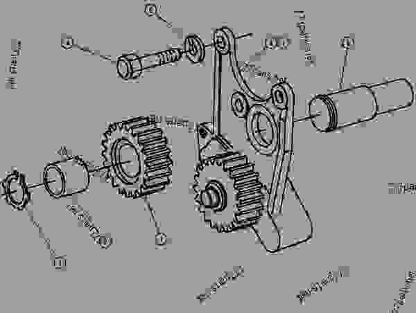 Diesel Engine Lube Oil Pump