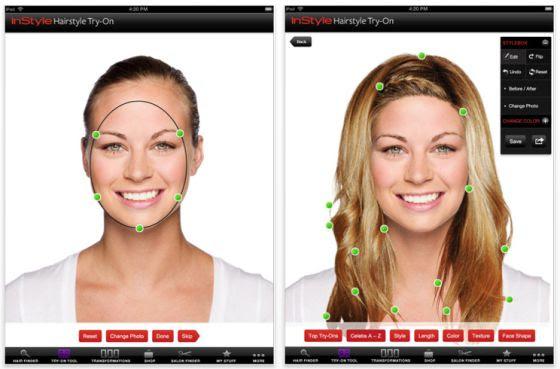 Frisuren Testen Mit Eigenem Gesicht