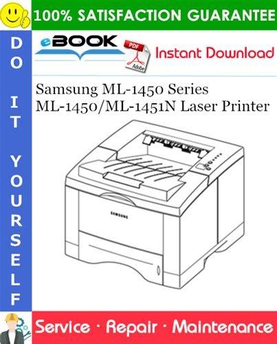 [PDF] samsung ml 1450 series ml 1450 ml 1451n laser