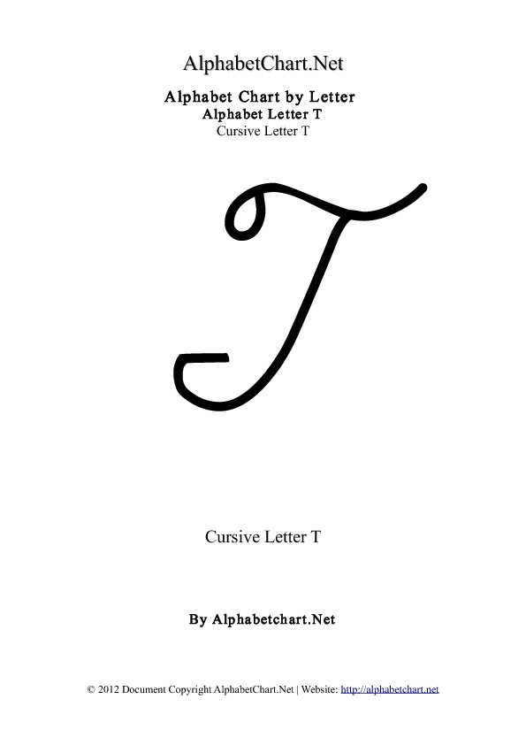 What Does A Capital T Look Like In Cursive : capital, cursive, Cursive, Capital, Letters, Letter