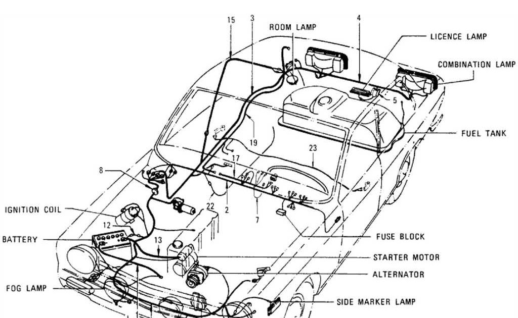 Datsun 620 Pick Up Wiring Diagram