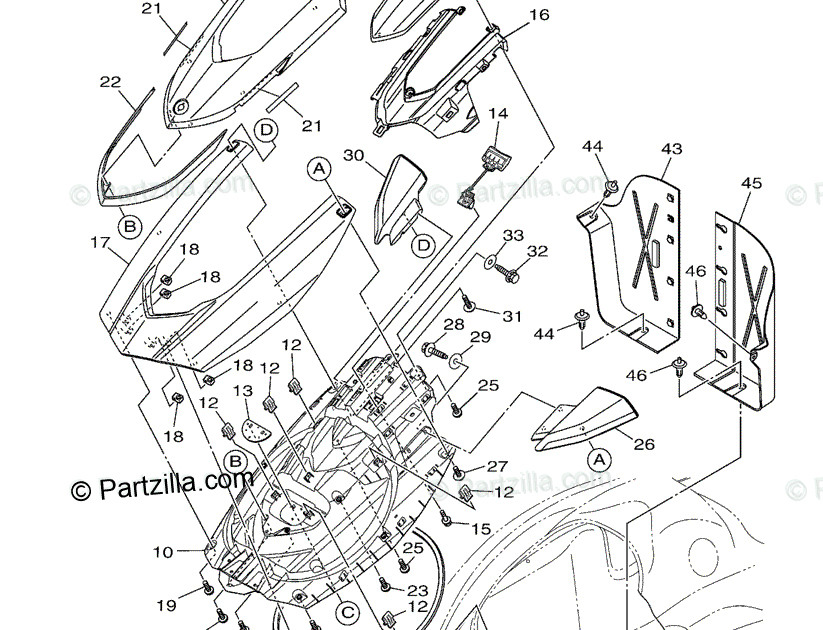 Yamaha Vx Wiring Diagram / Yamaha Vx Wiring Diagram