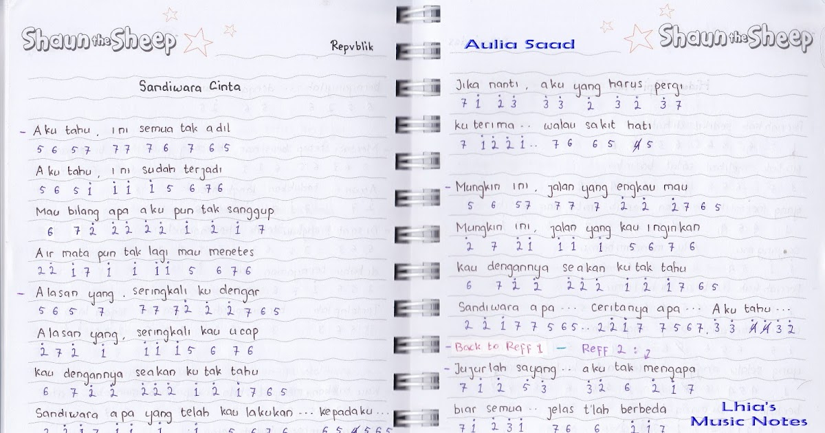 pencarian not angka : Not Angka Lagu Sandiwara Cinta