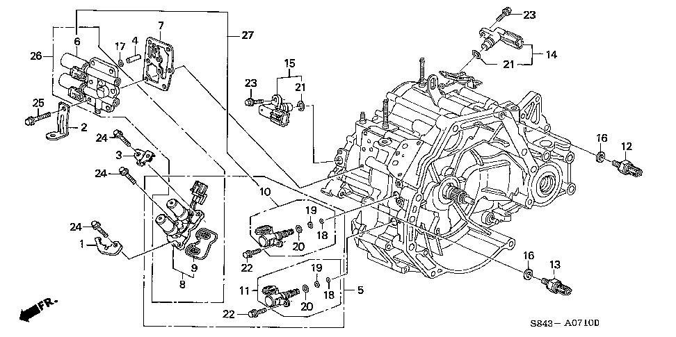 Honda Crv Shift Solenoid Location