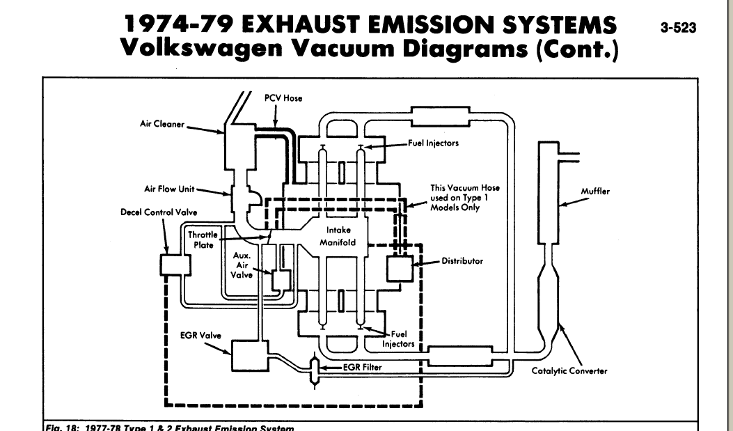 vw beetle engine diagram