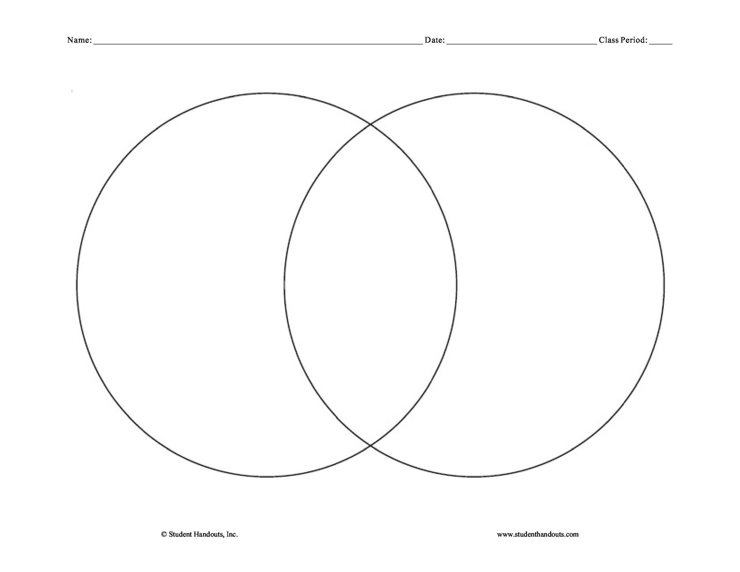 Wiring Diagram Database: How To Draw Venn Diagram In Word