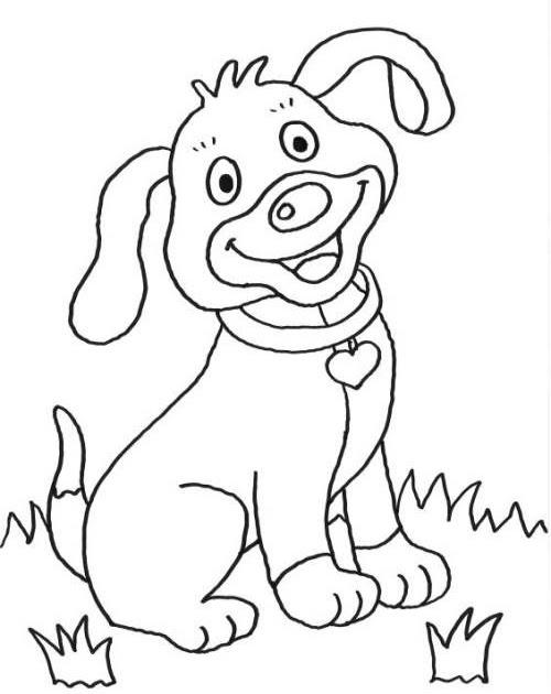 Gratis Malvorlagen Hunde Zum Ausdrucken - Catherine Miller