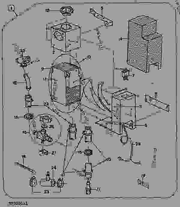 Wiring Diagram: 12 John Deere 455 Parts Diagram