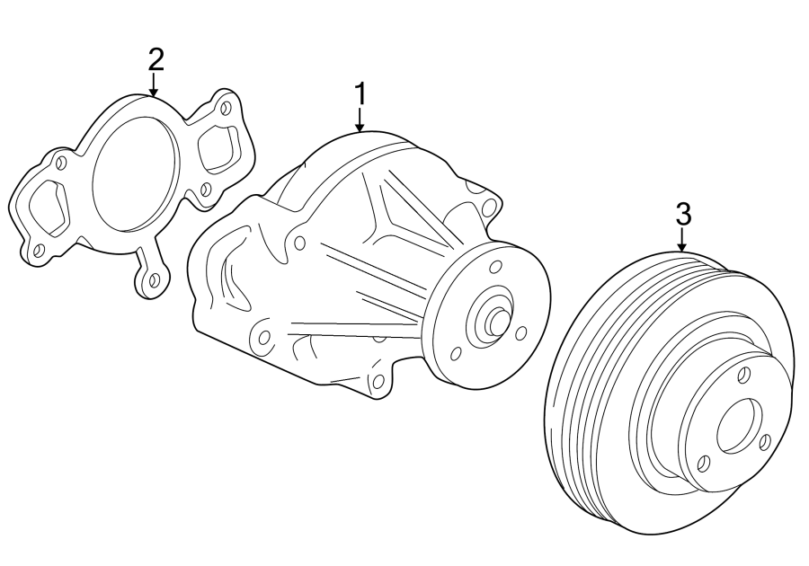 1996 Ford Thunderbird 4 6 Engine Diagram : Ford
