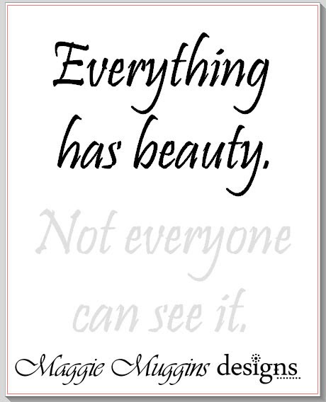 Maggie Muggins Designs: Beauty {Free Silhouette File}