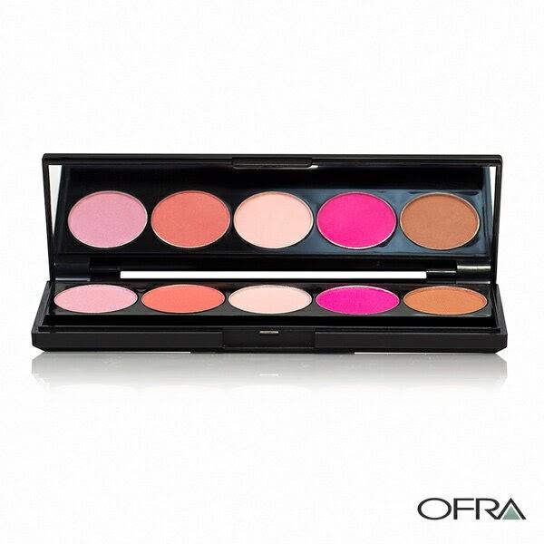 【限時產品】OFRA 經典玩色彩盤-愛戀腮紅盤 #333 5x2g Signature Palette-Blush - WBK SHOP