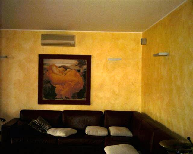 Colori pitture pareti particolari per interni moderni. Esempi Di Imbiancatura Interni