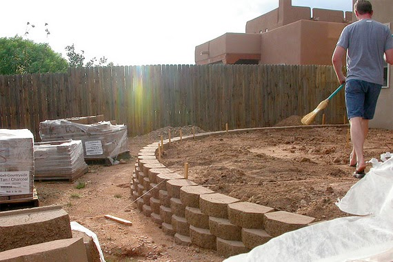 everything ws 8 retaining wall ideas