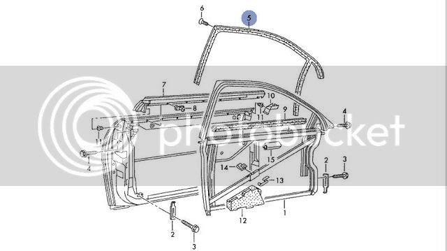 Audi A3 Door Seal Replacement