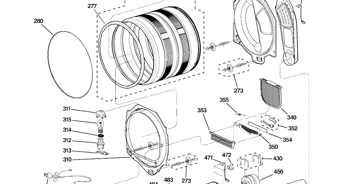 Wiring Diagram For Ge Dryer