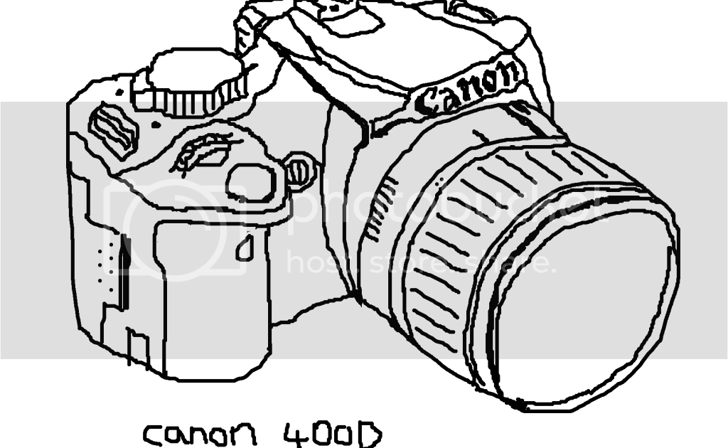 the art of benji: canon 400D sketch