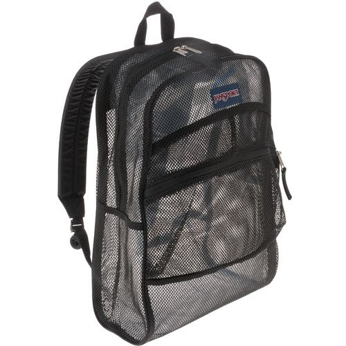 Clear Or Mesh School Backpacks For Boys