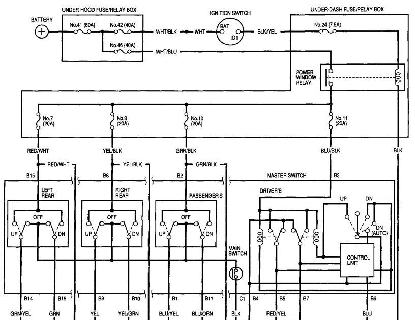 1998 Honda Accord Stereo Wiring Diagram