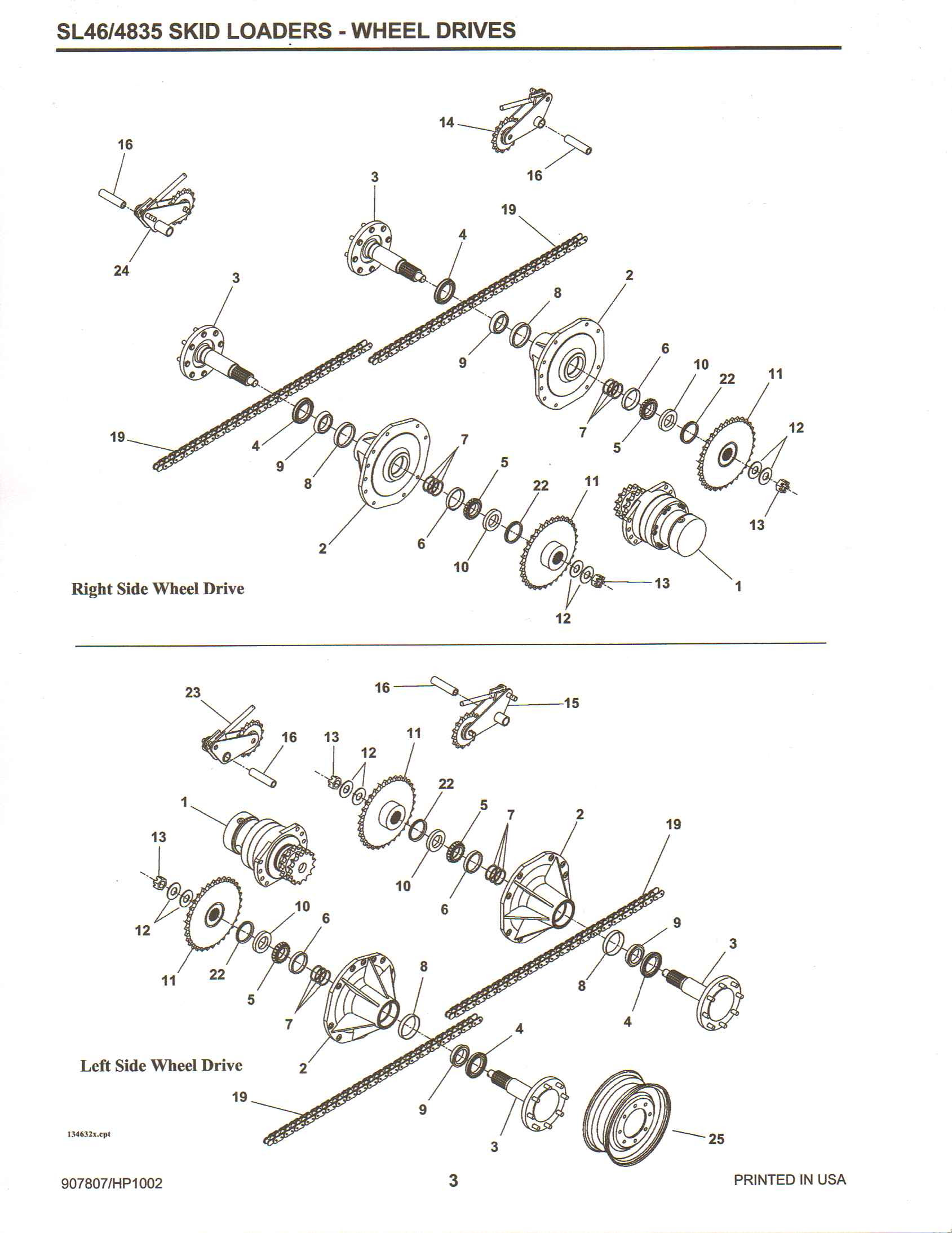 Wiring Diagram: 29 Gehl Skid Steer Parts Diagram