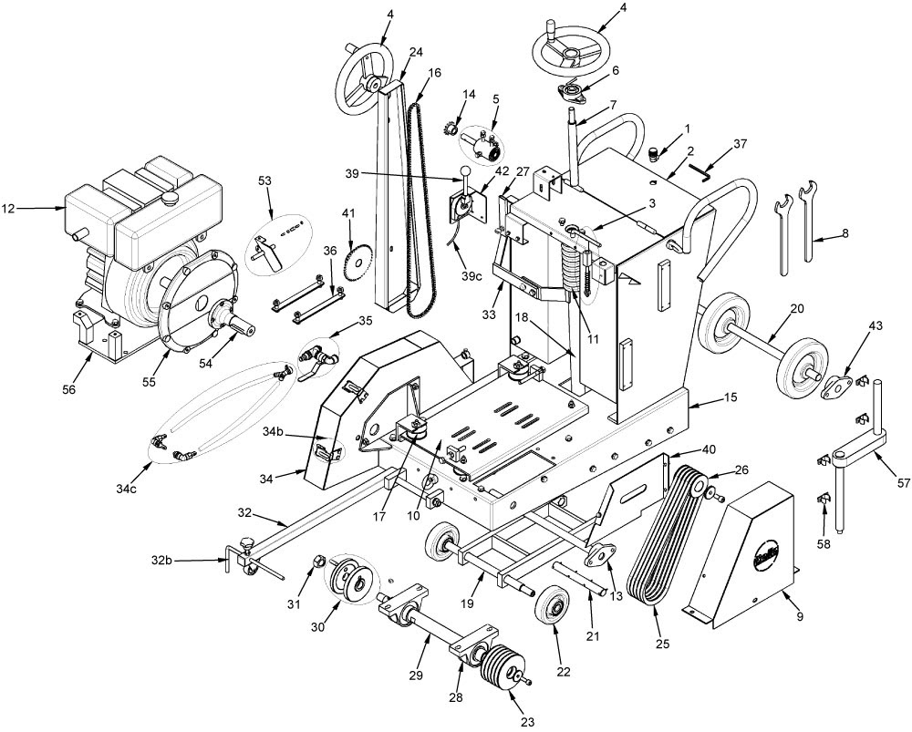 Wiring Diagram: 35 Kubota Rtv 1100 Parts Diagram