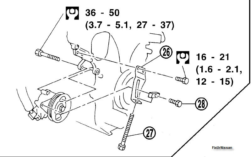 35 2000 Nissan Maxima Power Steering Hose Diagram