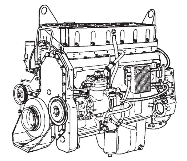 Cummins M11 Engine Diagram / Cummins Engine M11 Series