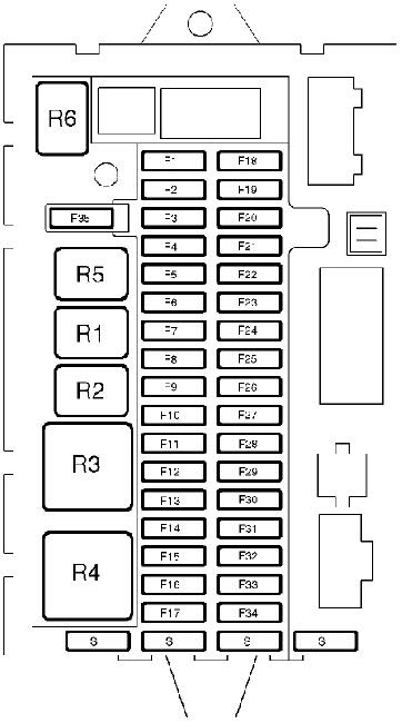 Wiring Manual PDF: 2004 Land Rover Freelander Fuse Box Diagram