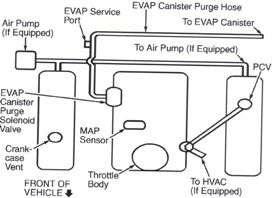 1991 Honda Accord Vacuum Hose Diagram