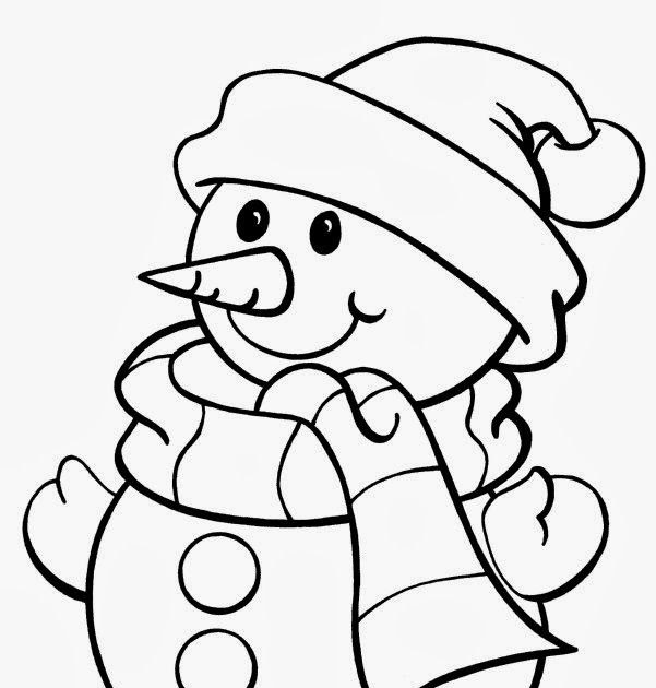 Christmas Coloring Pages for Kids Free Print and Color