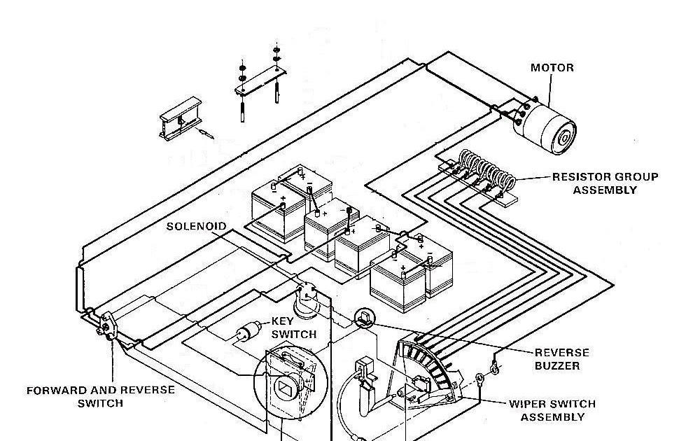 Yamaha 36V Wiring Diagram : Yamaha G29 Golf Cart