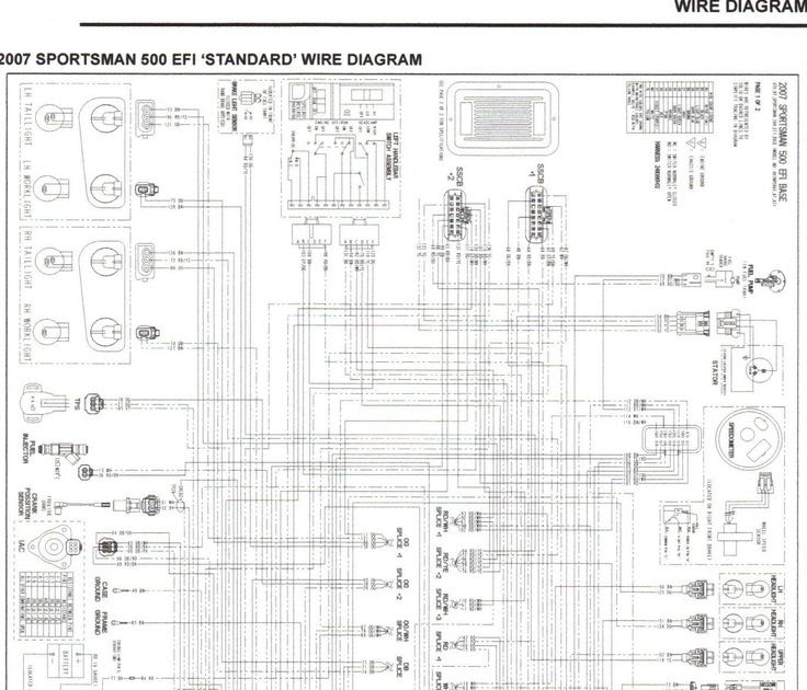 [DIAGRAM] 2005 Polaris Sportsman 500 Ho Wiring Diagram