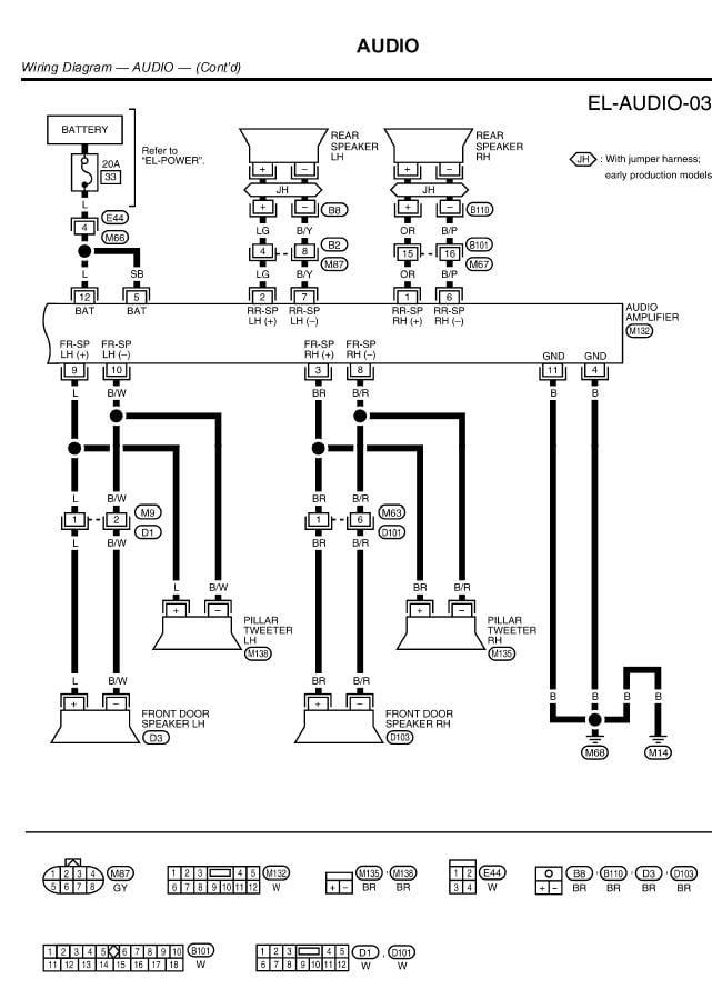 1998 Nissan Maxima Radio Wiring Diagram