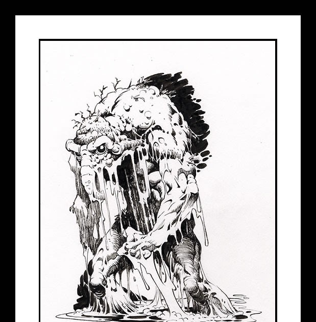 Giant-Size Marvel: Monster Monday: Mike Ploog Man-Thing