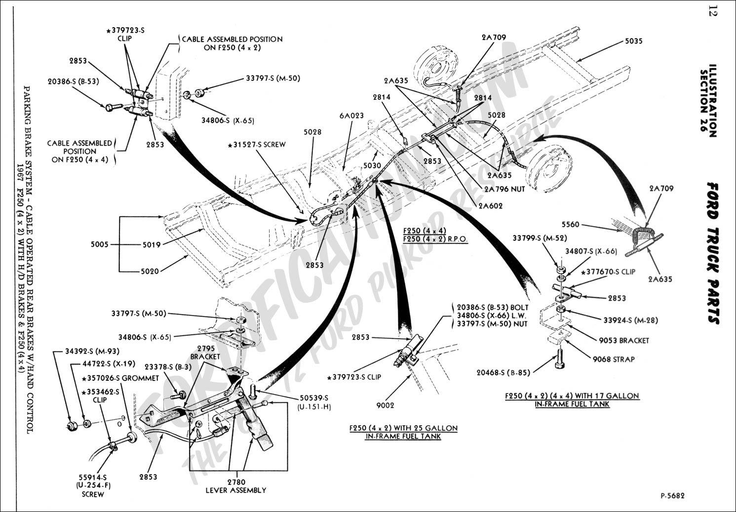 Wiring Diagram: 29 1997 Ford F350 Rear Brake Diagram