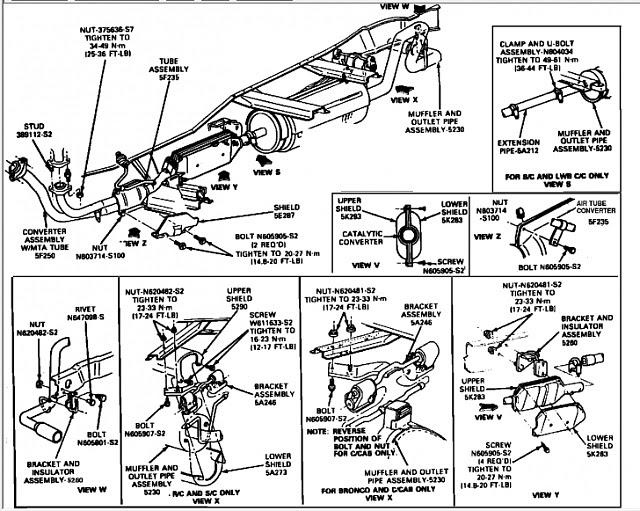 [DIAGRAM] 1990 Ford Ranger Fuel Line Diagram