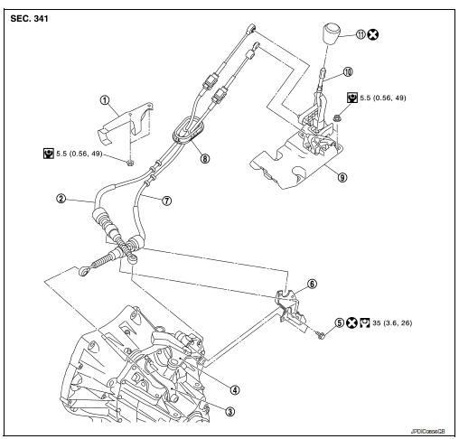 Bestseller: 2008 Nissan Sentra Manual Shifter Assembly
