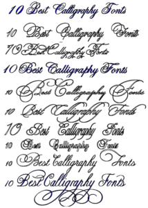 Best Fonts For Tattoos : fonts, tattoos, Tattoo