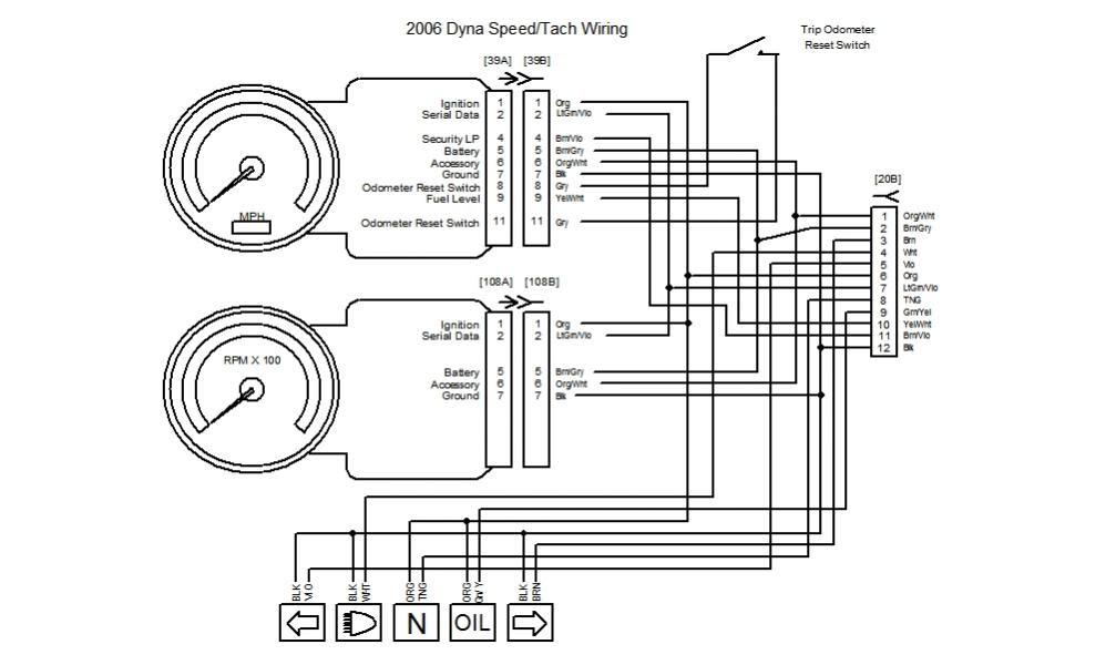 Sun Tach Wiring Diagram