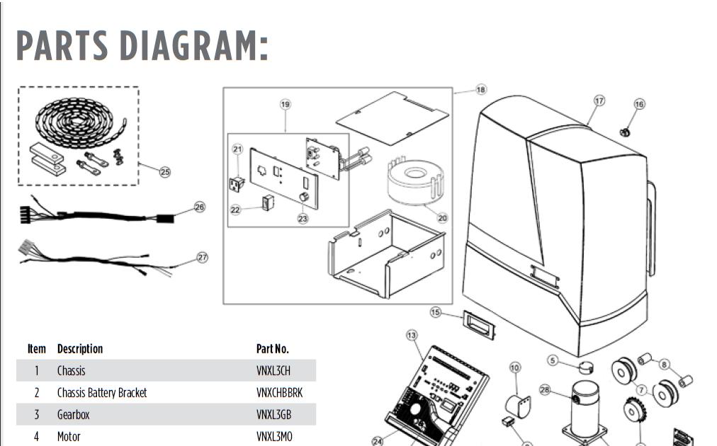 20 Lovely Powermaster Gate Operator Wiring Diagram