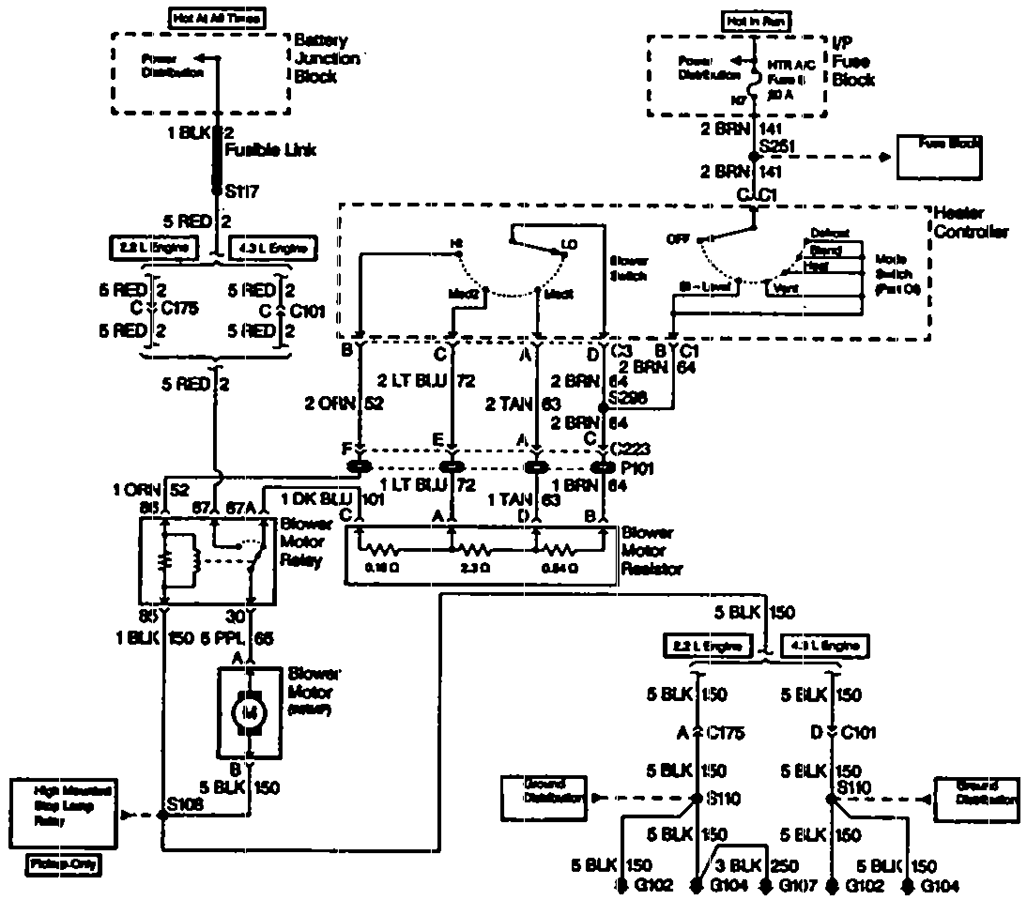 [DIAGRAM] 1994 S10 Transfer Case Wiring Diagram FULL