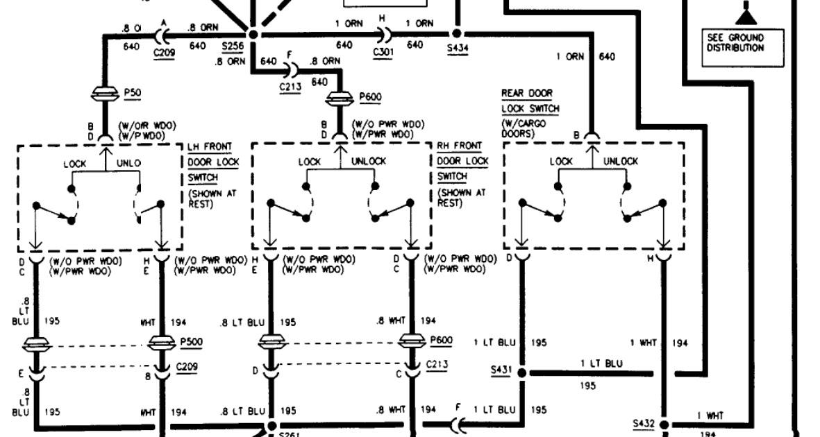 2001 Chevy S10 Wiring Schematic / 1991 Chevy S10 Wiring