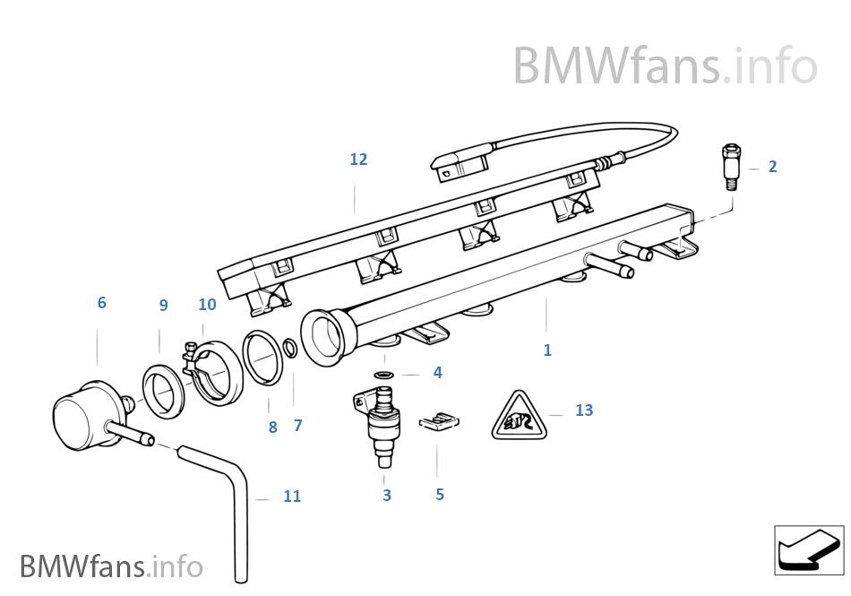 Bmw M40 Fuel Injectors