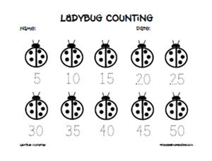 Mathwire: Math-Literature Connection: Ladybugs
