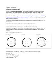 Microscope Worksheet For Middle School - Promotiontablecovers