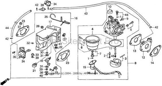 Wiring Diagram: 33 Honda Eu3000is Parts Diagram