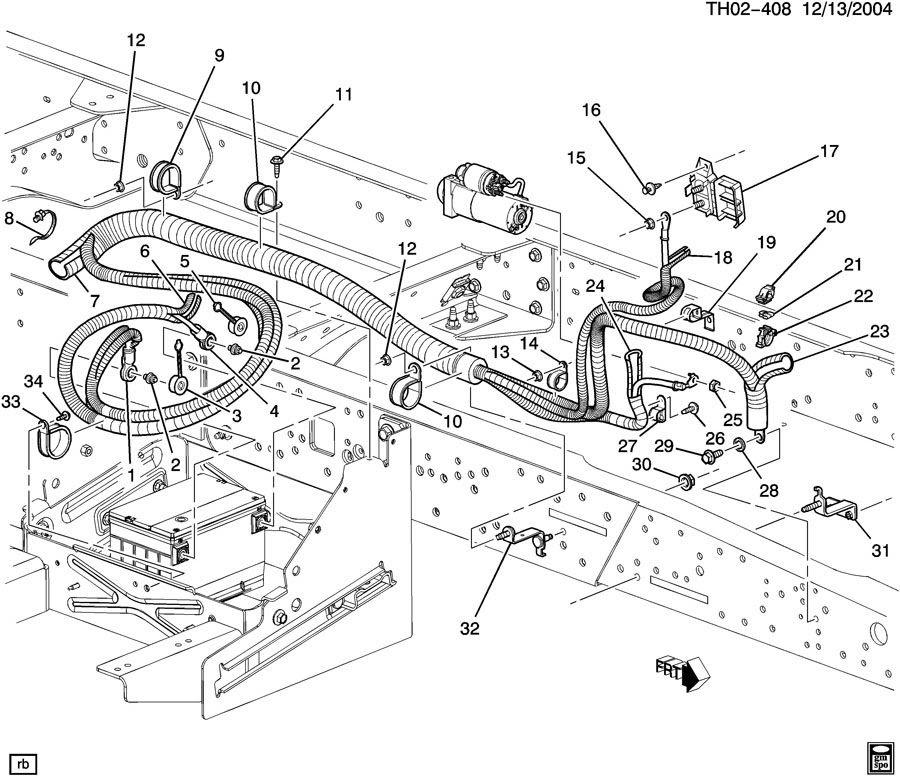 roger vivi ersaks: 2005 Chevy C5500 Wiring Diagrams
