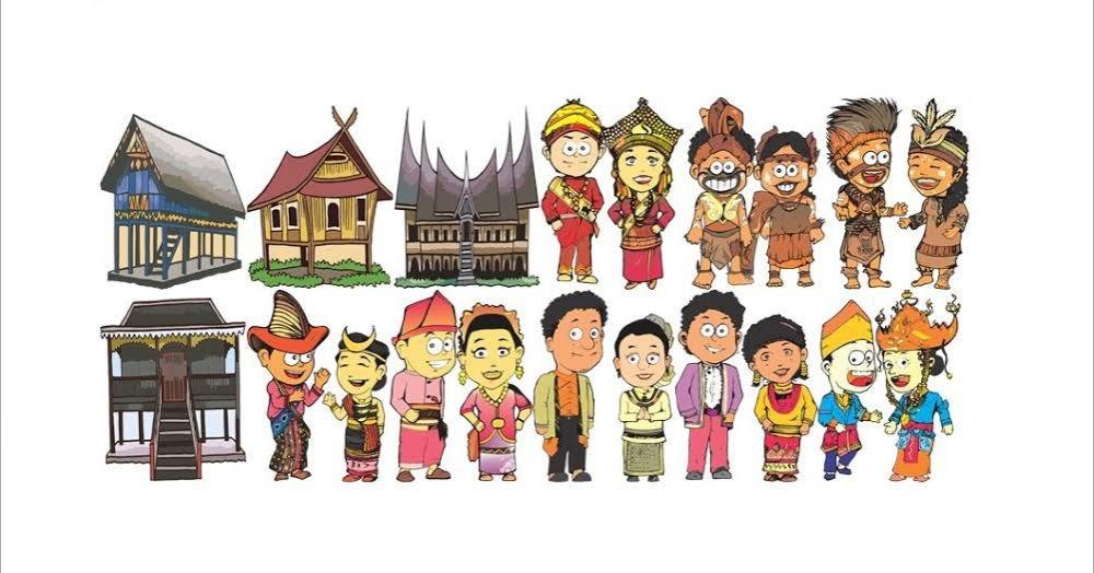 630+ Gambar Rumah Adat Indonesia Kartun Terbaru
