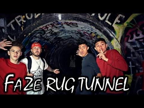 haunted faze rug tunnel