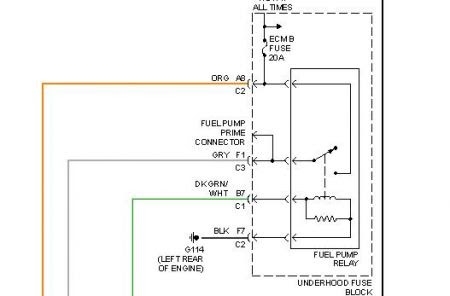 01 S10 Fuel Pump Wiring Diagram