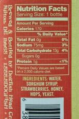 Not Your Father's Root Beer Nutrition Facts : father's, nutrition, facts, Nutrition, Facts